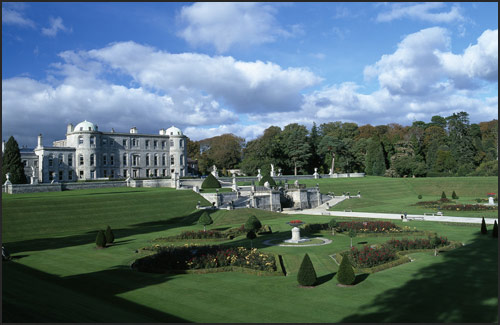 image of Powerscourt House and Gardens, Wivklow, Ireland